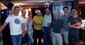 The Librium Team Challenge players at The Three Crowns