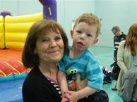 Val and grandson James