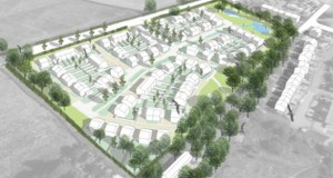 An artist's impression of the planned development in Walton