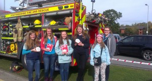 Stone Rangers support firefighters