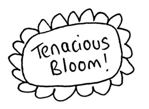Tenacious Bloom logo