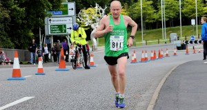 Paul Swan at the recent Potteries Marathon
