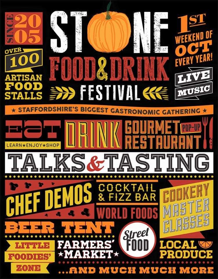 Stone Food and Drink Festival poster