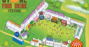 Stone Food and Drink Festival site plan 2015