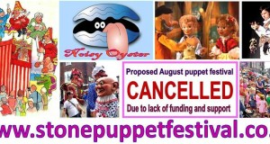 Stone Puppet Festival cancelled