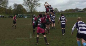 Ross Norton stealing the ball at the lineout was not enough to prevent a 40-41 loss in the Rubery Owen Cup Final