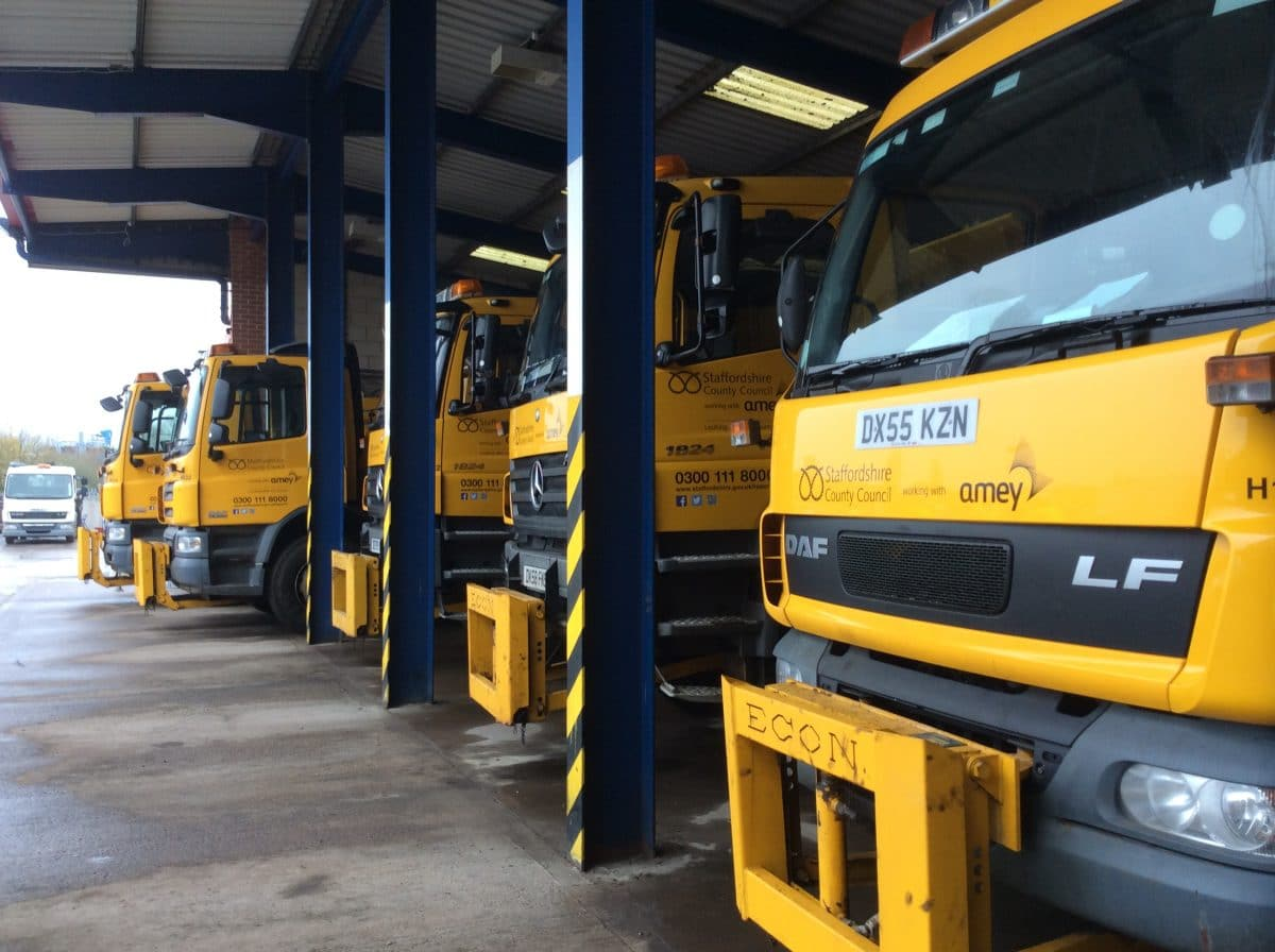 Staffordshire Gritters