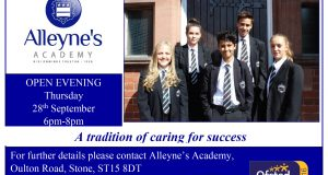 Alleyne's Academy Open Evening