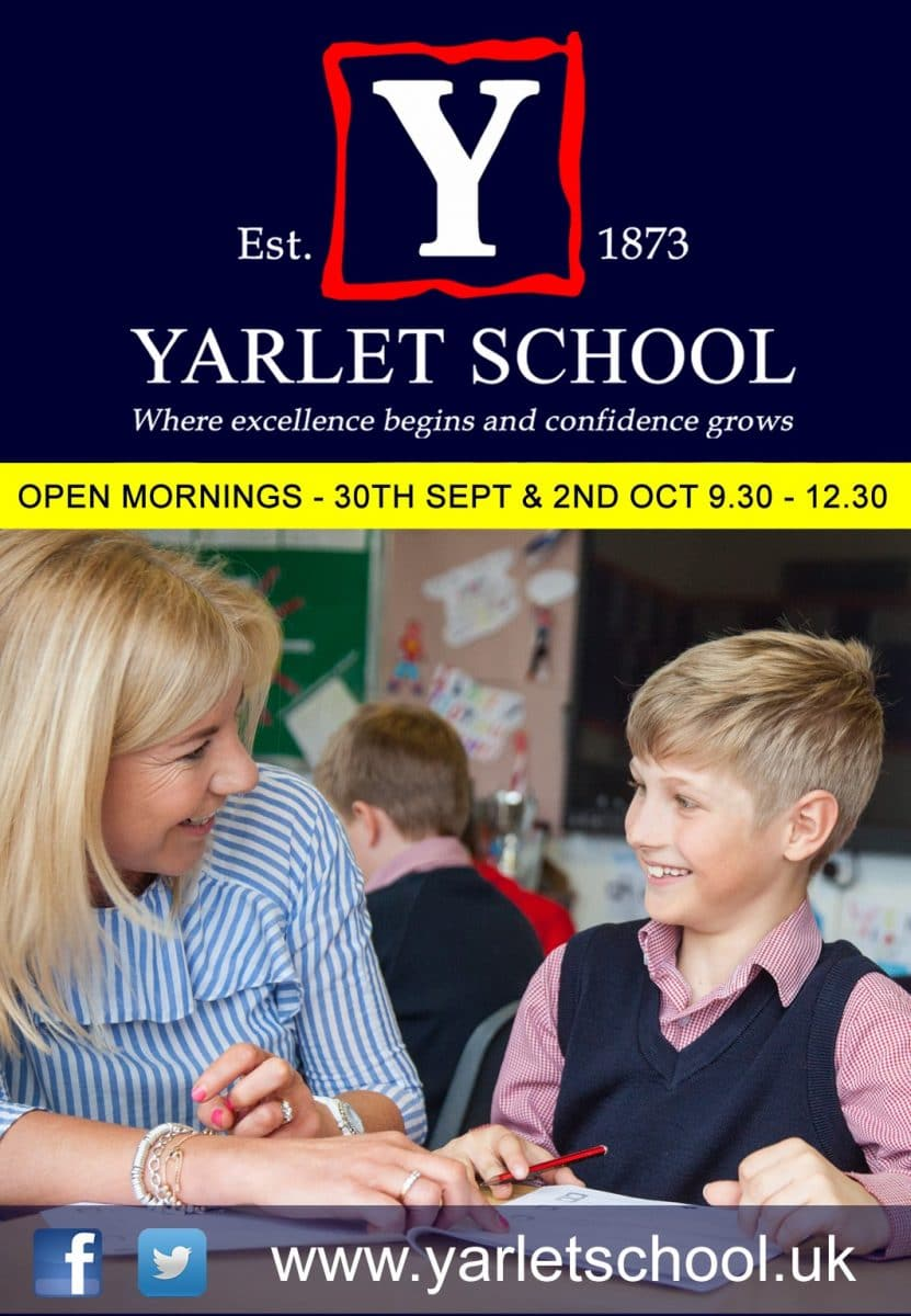 Yarlet Open Day
