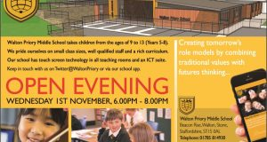Walton Priory Middle School - Open Evening