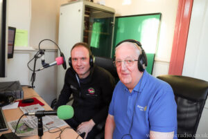 Cliff and John on the Stone Radio Breakfast Show