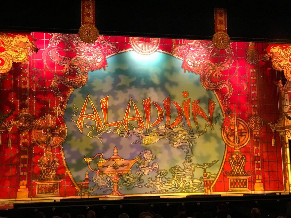 Review aladdin pantomime a little bit of stone for Aladdin cuisine stoke