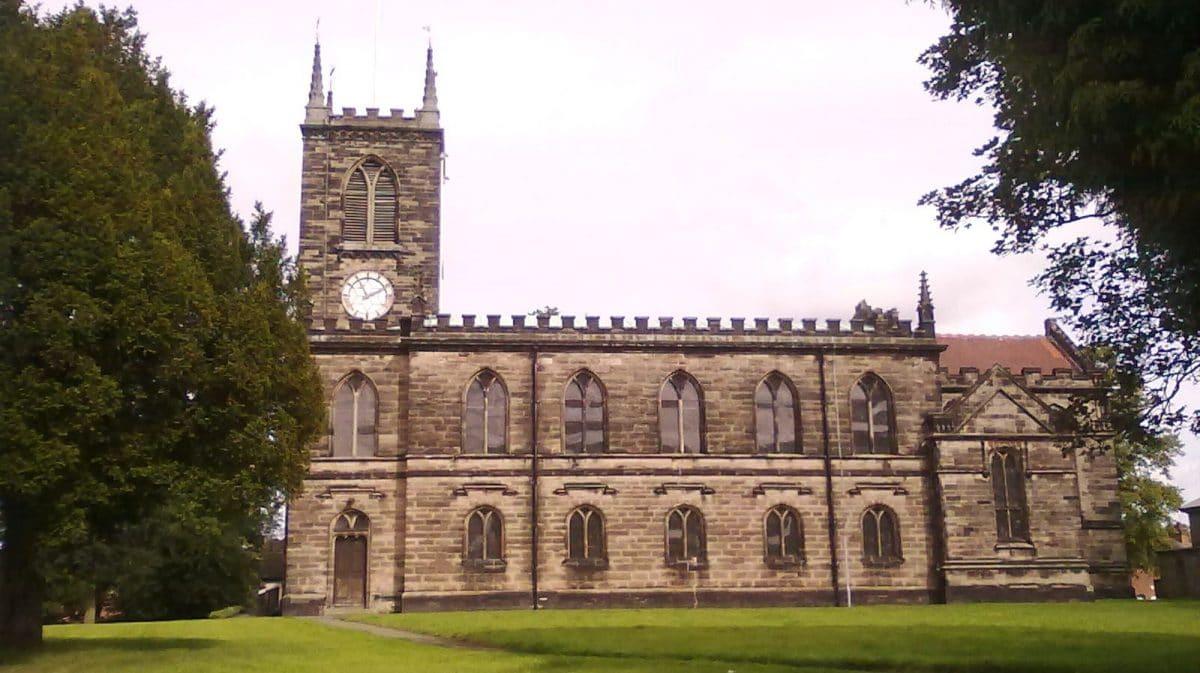 St Michael & St Wulfad's Church in Stone