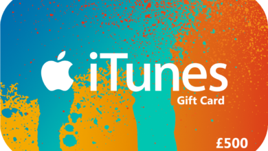 £500 itunes gift card