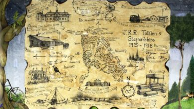 Tolkien's Staffordshire Map