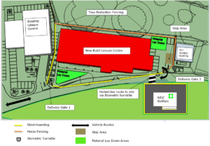 Stone Leisure Centre Plan