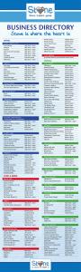 Business Directory - June 2018