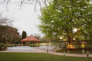 Moddershall Oaks Outside Wedding