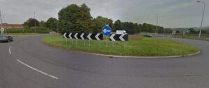 A34 A51 roundabout