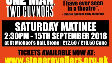 Stone Revellers - One Man, Two Guvnors