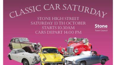 Stone Classic Car Saturday