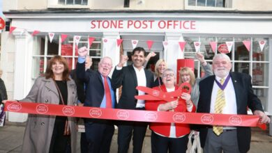 Stone Post Office Opening