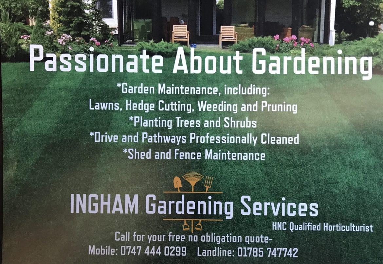 Ingham Gardening Services
